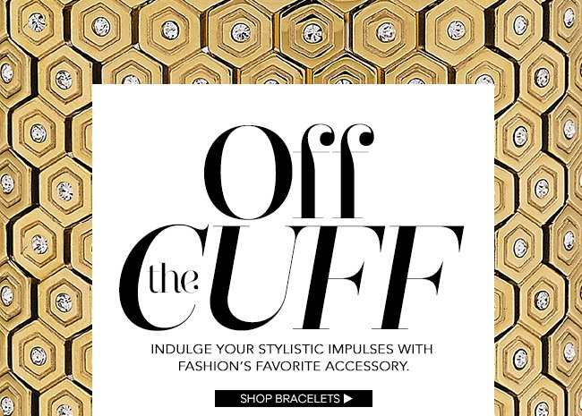 Off the Cuff: Shop Bracelets