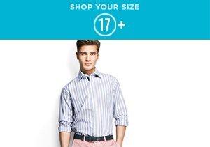 17+: Dress Shirts
