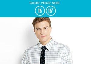 16-16.5: Dress Shirts