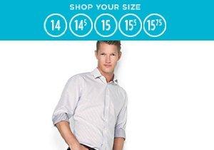 14-15.75: Dress Shirts