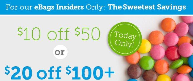 Shop Sweet Savings