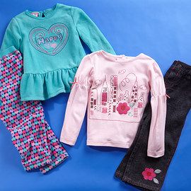 Colorful Picks: Girls' Apparel