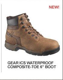 """Gear ICS Waterproof Composite-Toe 6"""" Boot"""