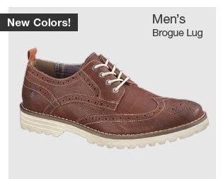 Men's Brogue Lug
