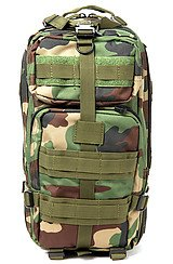 The Medium Transport Pack in Woodland Camo