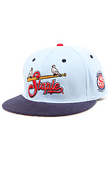 The Satchel Pigeon Hat in Blue
