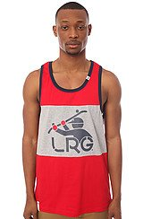 The South Sider Tank Top in Red