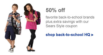 shop back-to-school HQ