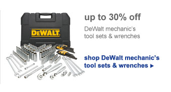 shop DeWalt mechanic's tool sets & wrenches