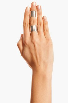 DOUBLE CUFF RING 9