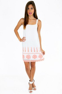 ALICIA EMBROIDERED DRESS 46