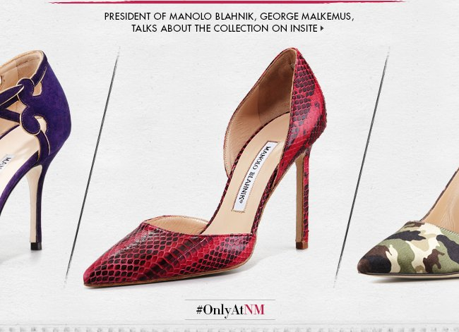 Manolo Blahnik: Exclusive Collection  InSite