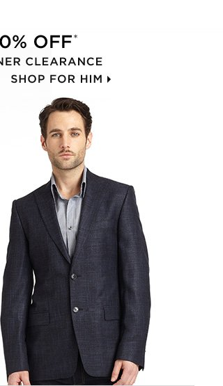 Up To 80% Off* Premier Designer Clearance - Shop For Him