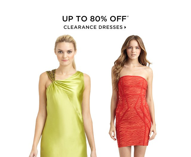 Up To 80% Off* Clearance Dresses