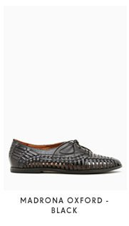 Madrona Oxford - Black