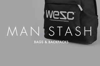 Man Stash: Bags & Backpacks