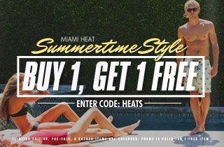 Miami Heat: Summertime Style