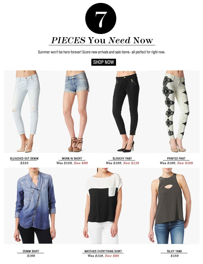 Pieces You Need Now - Shop Now