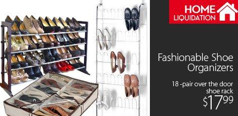 Fashionable Shoe Organizers
