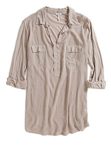 3/4 Sleeve Shirting Top