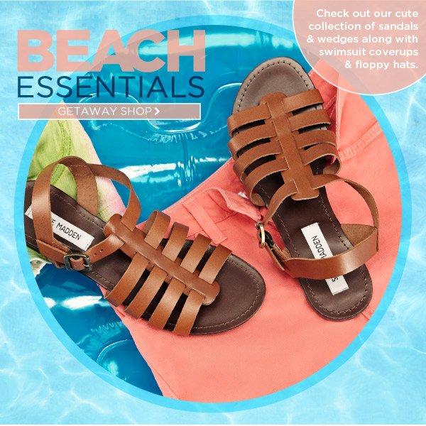 Shop Beach Essentials