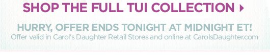 Shop The Full Tui Collection