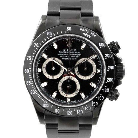 Rolex Daytona w/ Custom DLC/PVD Coating