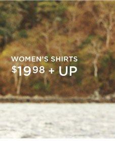 Women's Shirts | $19.98 + Up