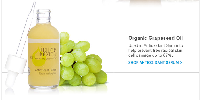 Organic Grapeseed Oil - Antioxidant Serum