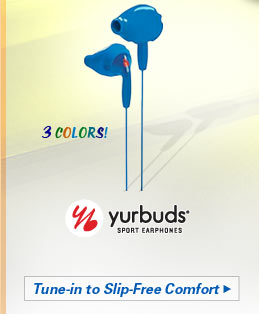 Yurbuds Ironman Inspire Performance Fit Earphones