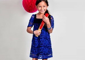 Up to 80% Off: Girls' Dresses & Rompers