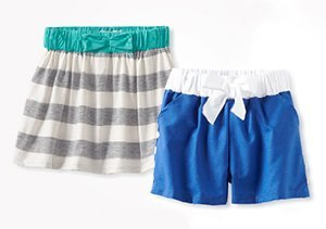 Up to 80% Off: Girls' Shorts & Skirts