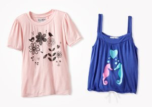 Up to 80% Off: Girls' Tops