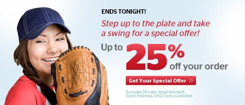 Take a Swing - Up to 25% Off