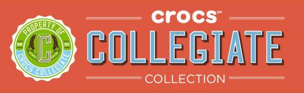 crocs collegiate collection