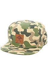 The Roots Foundation Camo Hat in Olive Camo