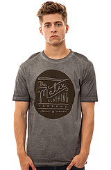 The Rollers Tee in Silver