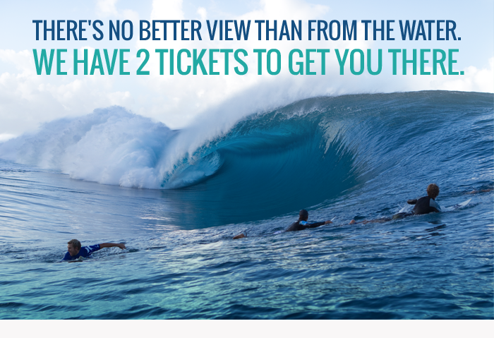 Theres no better view than from the water. We have 2 tickets to get you there.