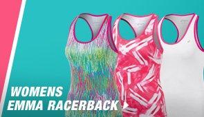 Shop Womens Emma Racerback - Promo D