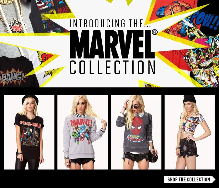 Introducing the Marvel Collection - Shop Now
