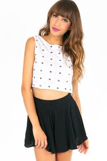 MISS DAISY SEQUIN CROP TOP 28