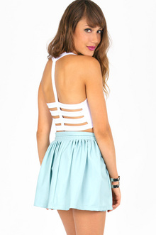 NAUGHTY BACK CROP TOP 16