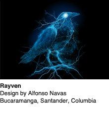Rayven - Design by Alfonso Navas / Bucaramanga, Santander, Columbia