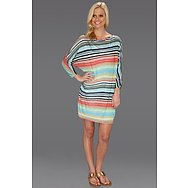 Michael Stars Happy Stripe Dolman Mini Dress