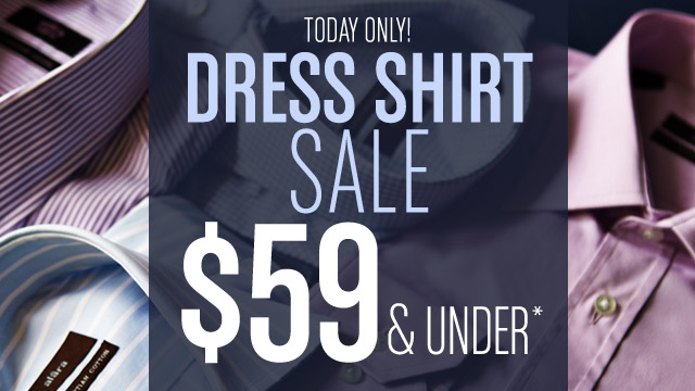 Dress Shirts on Sale