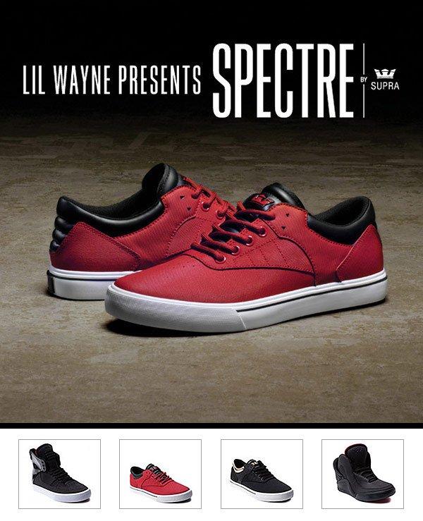 Lil Wayne presents Spectre by Supra.