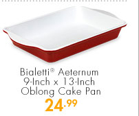 Bialetti® Aeternum 9-Inch x 13-Inch Oblong Cake Pan 24.99