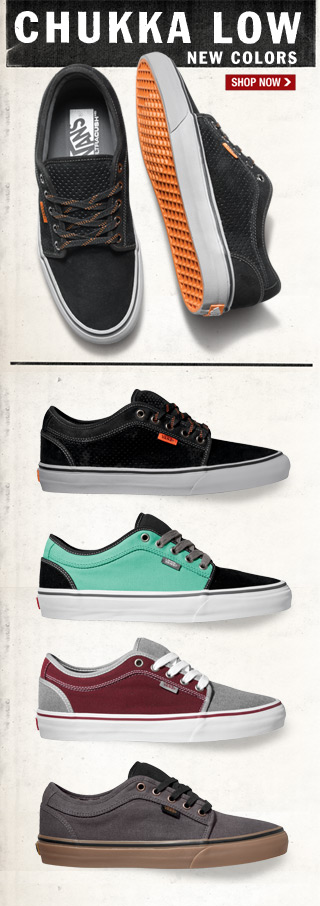 New Chukka Low Colors