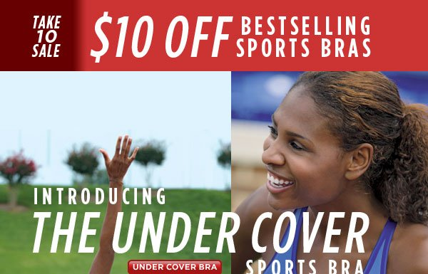 SHOP New Under Cover Sports Bra