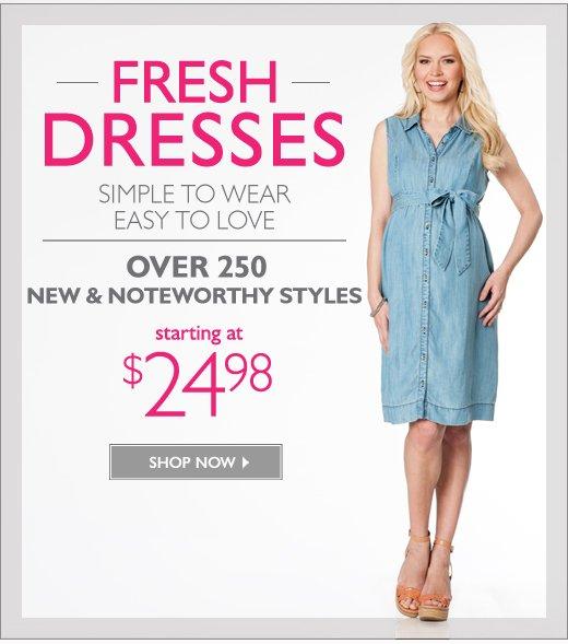 Fresh Dresses